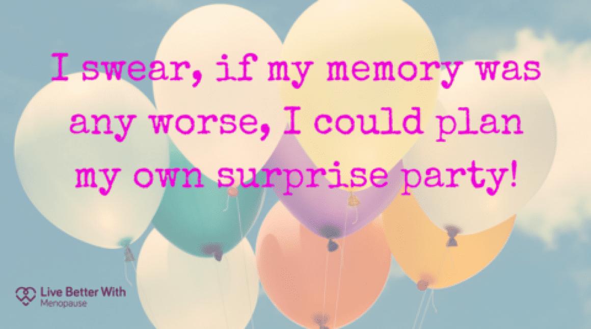 menopause and memory