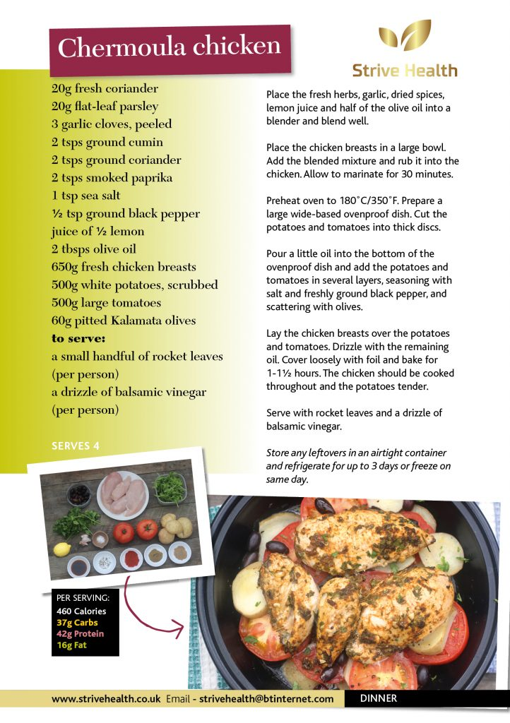 chocken dinner recipe
